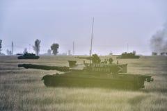 罗马尼亚坦克TR 85M 'Bizonul' 免版税库存图片