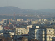 罗马尼亚城市 库存图片
