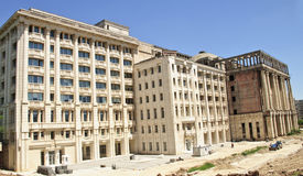 罗马尼亚学院大厦 免版税库存照片