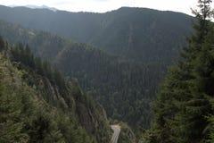 罗马尼亚山景 免版税库存图片