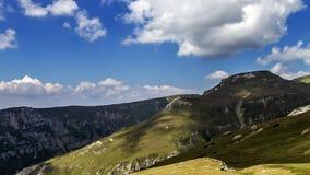罗马尼亚山风景时间间隔 股票视频