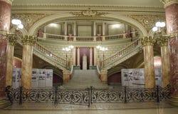 罗马尼亚庙内部 免版税库存照片