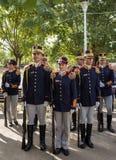 罗马尼亚操练队 库存图片