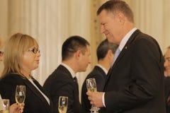 罗马尼亚新的政府:Dacian Ciolos内阁 库存照片
