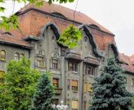 02罗马尼亚方形timisoara联盟 库存图片