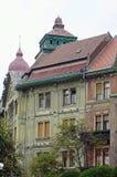 02罗马尼亚方形timisoara联盟 库存照片