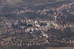 罗马尼亚村庄 免版税库存照片