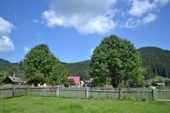 罗马尼亚村庄 库存图片