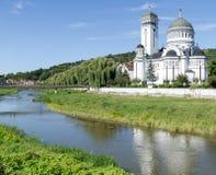罗马尼亚正统大教堂 图库摄影