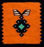 罗马尼亚民间无缝的样式装饰品 罗马尼亚传统刺绣 种族纹理设计 传统地毯设计 免版税图库摄影