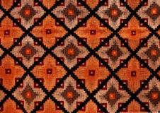 罗马尼亚民间无缝的样式装饰品 罗马尼亚传统刺绣 种族纹理设计 传统地毯设计 Carpe 免版税库存图片