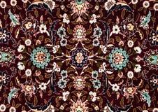 罗马尼亚民间无缝的样式装饰品 罗马尼亚传统刺绣 种族纹理设计 传统地毯设计 Carpe 库存图片