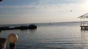 罗马尼亚海滩 免版税库存图片