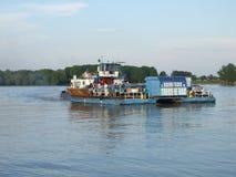 罗马尼亚渡轮 免版税库存照片