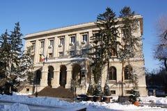罗马尼亚的国家银行的地方总部在Iasi,罗马尼亚 免版税库存照片