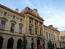 罗马尼亚的国家银行 图库摄影