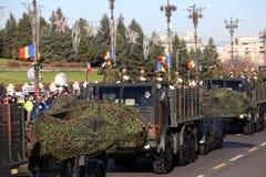 罗马尼亚的国庆节2015年 免版税库存图片