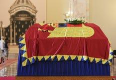 罗马尼亚的女王安妮王宫的在布加勒斯特 免版税图库摄影