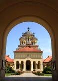 从罗马尼亚的正统大教堂 免版税库存图片