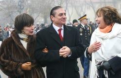 罗马尼亚的莉娅公主王子保罗和 免版税库存照片