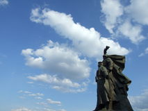 罗马尼亚英雄纪念碑 免版税库存照片