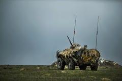 罗马尼亚装甲车 图库摄影