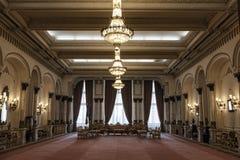 罗马尼亚议会的宫殿 免版税库存照片
