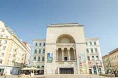 罗马尼亚语国家歌剧院蒂米什瓦拉 免版税库存图片