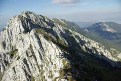罗马尼亚语的山 免版税库存照片