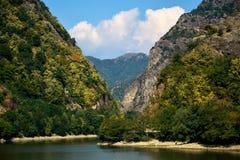 罗马尼亚风景FAGARAS 免版税图库摄影