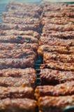 罗马尼亚香肠 免版税库存照片