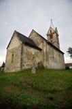 罗马尼亚-圣塔玛丽亚Orlea教会 免版税图库摄影