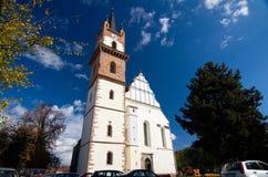 罗马尼亚- Bistrita 免版税库存照片