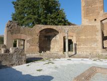 罗马市的古老遗骸拉齐奥-意大利08 免版税库存图片