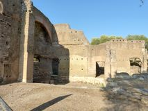 罗马市的古老遗骸拉齐奥-意大利04 免版税库存照片