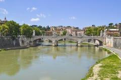罗马市 库存图片
