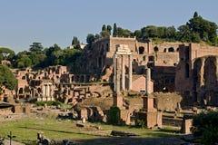 罗马帝国废墟 库存照片