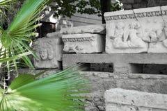 罗马帝国的古老纪念碑 免版税库存图片