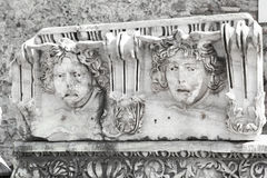 罗马帝国的古老纪念碑 库存照片