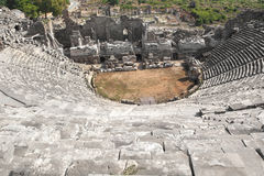 罗马帝国的古老纪念碑 库存图片