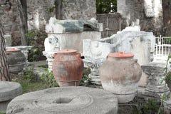 罗马帝国的古老纪念碑 图库摄影