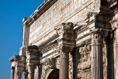 罗马帝国的纪念碑 免版税库存图片