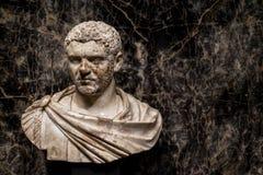 罗马帝国皇帝, Caracalla雕象 免版税库存照片
