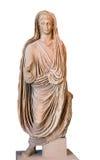 罗马帝国皇帝Tiberius雕象  库存图片