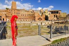 罗马广场,罗马, ITALY-SEPTEMBER 24 图库摄影