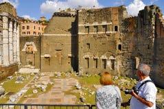 罗马广场,罗马, ITALY-SEPTEMBER 24 免版税库存图片