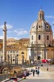 罗马广场,罗马, ITALY-SEPTEMBER 24 免版税图库摄影