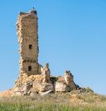 罗马废墟在西班牙 图库摄影