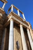 罗马废墟细节 免版税库存照片