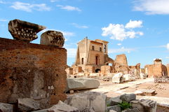 罗马废墟 图库摄影